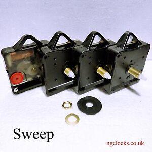 Replacement Quartz Clock movement motor mechanism, Hr pipe 5.5mm/min pipe 3.6mm