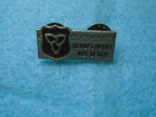 New listing Heroes in Life Not Death Lapel Pin