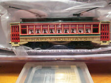 BACHMANN 61085 BRILL TROLLEY CAR CHRISTMAS LIVERY  BOXED.