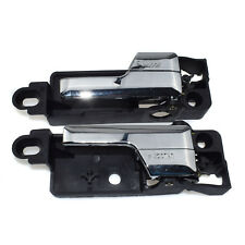 Rear Left & Right Inside Interior Chrome Door Handle For Ford Fusion Lincoln New
