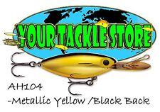 Storm Original Hot 'n Tot 07 Fishing Lure Metallic Yellow/black Back