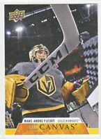2020-21 Upper Deck Series 1 UD CANVAS Marc-Andre Fleury  #C81