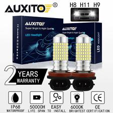 2x H8 H11 H9 H16Jp 6000K White 2800Lm High Power Led Fog Light Driving Bulb Drl