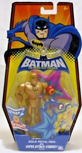 Batman The Brave and the Bold Starro and Metal Man Action Figure Mattel 2009 NIB