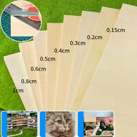 1/2/5Pcs Wood Board Model layer Board Plywood Plank DIY Craft Supplies 21x30cm