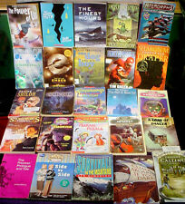 25 Book Lot TEEN Young Adult FICTION Youth NOVEL Fantasy Mystery Sport BOY GIRL