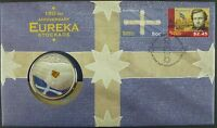 Australien Australia 2004 Eureka Stockade Numisbrief Coin Cover