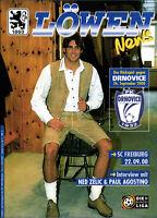 UEFA-EC III + BL 2000/2001 1860 München - SC Freiburg / FK Drnovice