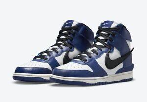 Nike Dunk High x AMBUSH Deep Royal Size 7M/8.5W🔥Free Shipping🚚📦