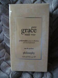 Philosophy Pure Grace Nude Rose Eau De Parfum 120ml New Boxed & Sealed