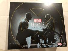 Marvel Legends X-Men Logan and Charles Xavier Hasbro Pulse Con SDCC Exclusive