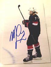 Monique Lamoureux SIGNED 4x6 photo Women's Hockey TEAM USA #5