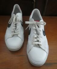 Nike BRS White / Red / Black Mens Atheletic Shoes -Size 12