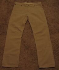 2012 Men's Tommy Hilfiger CLASSIC STRAIGHT Khaki Jeans Size 34x30 actual = 36x30