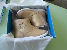 Step and Stride-Toddler Girls Galicia Gold Fashion Booties-Size 3.5-Msrp $38-New