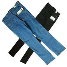 Jeans da uomo neri lunghi senza marca