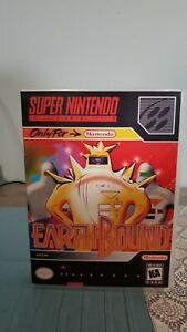 Earthbound SNES Reproduction Hard Protective Case Only! NO GAME OR MANUAL