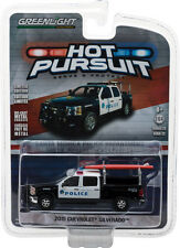 Greenlight 1/64 Santa Monica, CA Police 2015 Chevy Silverado Hot Pursuit 22