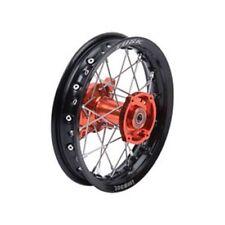 FITS: KTM 50 SX 2015–2018 Tusk Impact Complete REAR Wheel 10x1.60 Black Orange