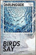 DARLINGSIDE Birds Say Ltd Ed Discontinued RARE Poster +FREE Folk Indie Poster!
