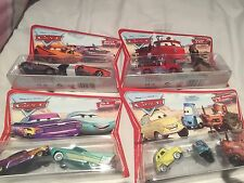 **DISNEY CARS 1ST SERIES - 4 X DOUBLE PACKS** BNIP MINT CONDITION