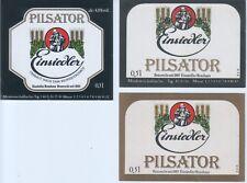 3 bière Einsiedel pilsator