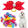 20/50pcs Dog Hair Bows Grooming Accessories for Pet Puppy Cat Shih Tzu Yorkie