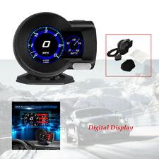 Car OBD2 Multi-function Gauge HUD Digital Display Boost Data Scan Tool Base set