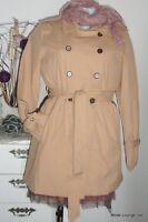 kaffe - Mantel  Susanna Trench Coat, Gr M / 38, sand beige, Neu new Jacke jacket