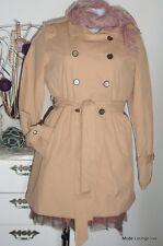 Kaffe - Manteau Susanna trench coat, M/38, sable beige, neuf veste