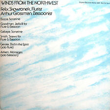 Winds From The Northwest Flute & Bassoon Music [1975] Crystal Records S351