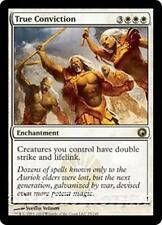 TRUE CONVICTION Scars of Mirrodin MTG White Enchantment RARE