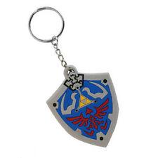 The Legend of Zelda: Twilight Princess Hylian shield rubber keyring keychain