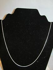 """NEW STERLING SNAKE CHAIN NECKLACE 20"""",  Very shiny, Thick, 4.0 grams,"""
