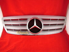 Mercedes Benz W203 Grill C230 C320 C240 Grille Silve 4 fins - CLEARANCE SALE