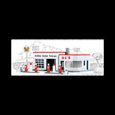 AL'S VICTORY SERVICE - N SCALE CORNERSTONE KIT 933-3243