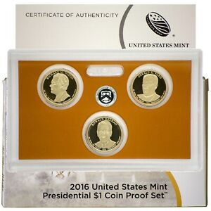 Presidential Dollar Proof Set Lot 2007 2008 /& 2009