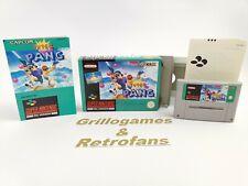 """Super Nintendo Spiel """" Super Pang """"   Snes   Ovp   Pal   CIB"""
