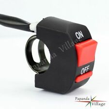 Motorcycle Handlebar 7/8'' ATV Bike Horn Starter Kill Stop Switch On Off Button