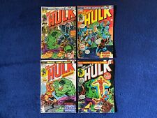 Hulk 175 176 177 178 Marvel Lot RAW BEAUTY WOW!!!