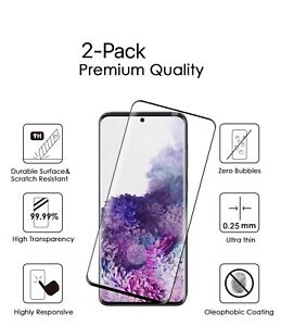 2-Pack Tempered Glass Screen Protector For Samsung Galaxy Note 20/Note 20 Ultra