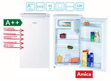 Amica Kühlschrank KS15195W weiß A++ mit 4 Sterne Gefrierfach Bürokühlschrank