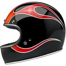 Biltwell Gringo DOT / ECE Motorcycle Helmet - DICE Flames - X-Large