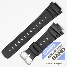 CASIO black rubber watch band for DW-5600BB, DW-5600P, 10410406