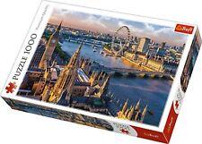 London Big Ben River Thames London Eye Jigsaw Puzzle ~ 1000 Piece