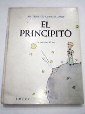 SAINT-EXUPERY LITTLE PETIT PRINCE PRINCIPITO  RARE SPANISH EDITION 1967