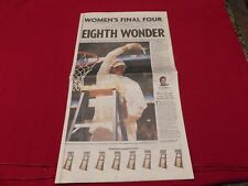 2008 Tennessee Lady Vols Women's Basketball Champions Tampa full newspaper