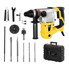 Demolition Concrete Rotary Hammer Electric 1050W Power Tool And Transport Case