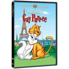 GAY PURR-EE. Judy Garland animated musical. Region free. New DVD