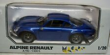 Macadam Mini 1:20 ALPINE RENAULT A 110 - 1600 S, Bleu foncé, DIE CAST